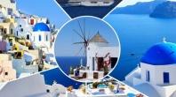 Круиз Пет Гръцки острова  - Санторини, Миконос, Родос, Патмос, Крит и Турция - 5дни,  All inclusive! с автобус 2019